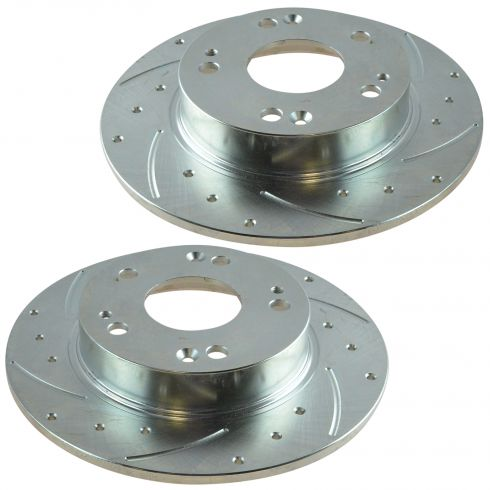 06-11 Honda Civic, Acura CSX Rear Performance Brake Rotor Pair