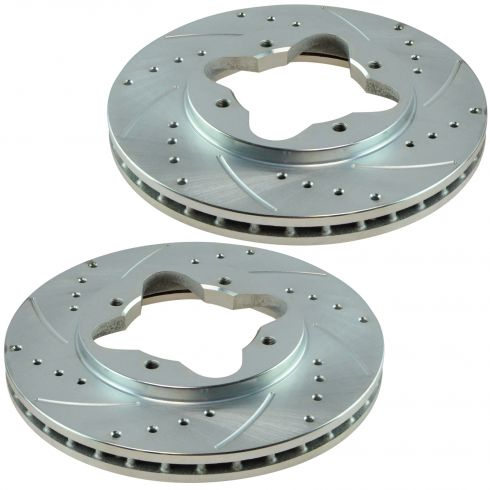 1990-97 Accord, CL Performance Brake Rotor Pair Front 259.5mm (Except Wagon)