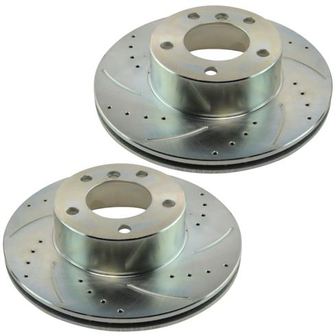 01-03 525i; 97-00 528i Front  Performance Brake Rotor Pair