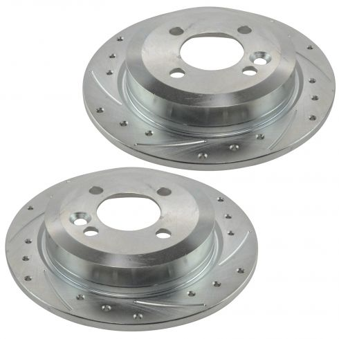 02-06 (thru 7/11/06) Mini Cooper Rear Performance Brake Pair