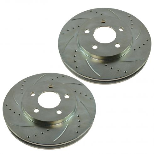 05-10 Ford Mustang w/4.0L Front Performance Brake Rotor Pair