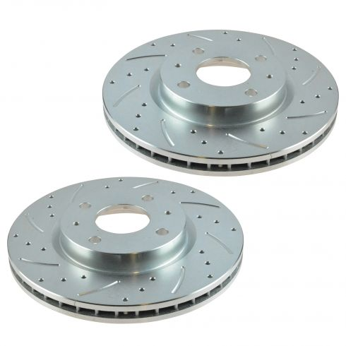 08-11 Ford Focus Front Performance Brake Rotor Pair