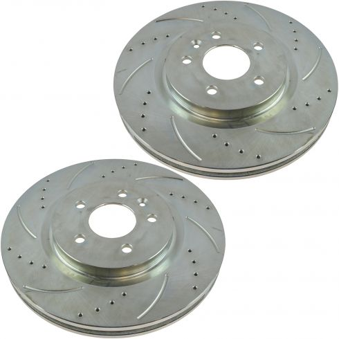 09-11 Ford Flex; 10-11 Taurus; 09-10 MKS MKT Front Performance Brake Rotor Pair