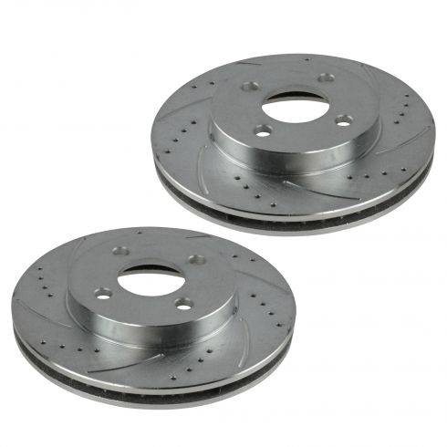 05-10 Cobalt 07-10 G5 03-07 Ion 05-06 Pursuit Front Performance Brake Rotor Pair