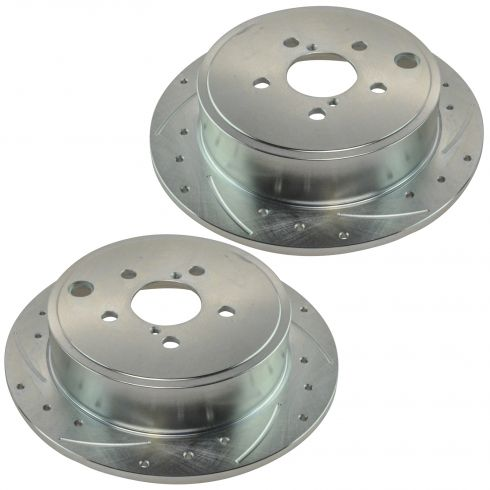 08-10 Subaru Forester, Impreza, Legacy, Outback Rear Performance Brake Rotor Pair