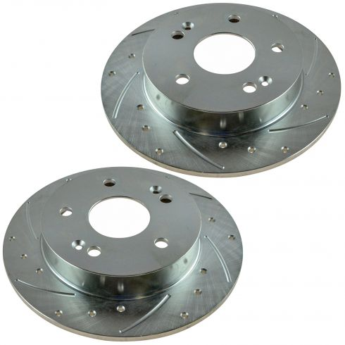 06-11 Honda Civic, Acura CSX Rear Perfomance  Brake Rotor Pair