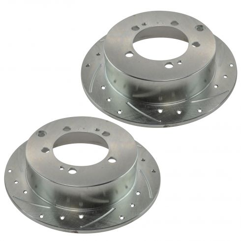 96-05 Seabring; 96-05 Eclipse Rear Performance Brake Rotor Pair
