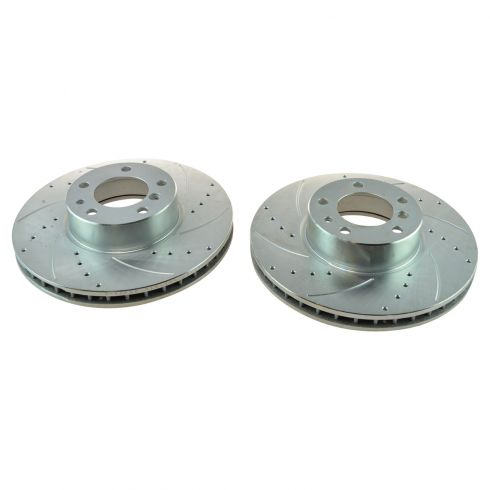 01-03 BMW 530i; 540i Front Disc Performance Brake Rotor Pair
