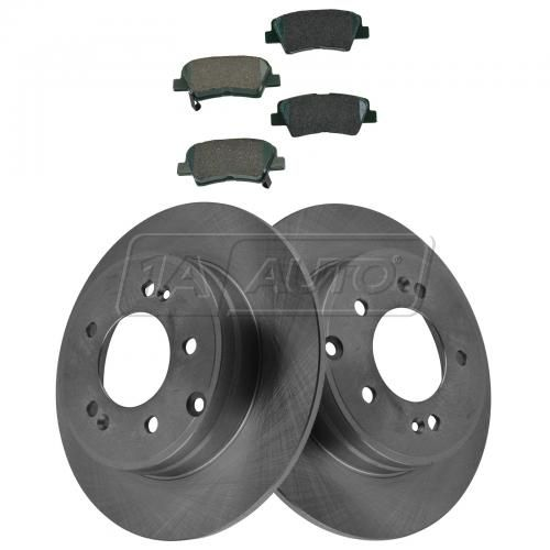 12-15 Sonata; 12-14 Optima Rear Ceramic Pad & Rotor Kit
