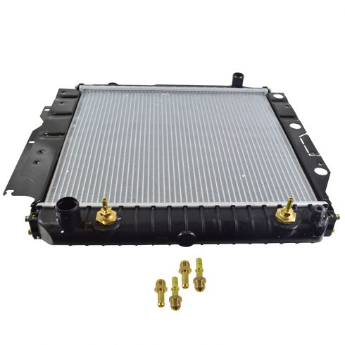 1987-96 Jeep Wrangler Radiator 2.5L 4.0L 4.2L (2 core)