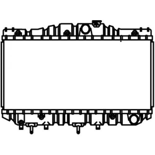 1983-86 Toyota Camry Radiator w/ L4 2.0 All