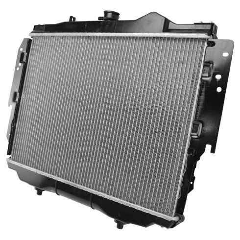 1992-93 Dodge D100 Pickup Radiator w/ V6 3.9 239 All