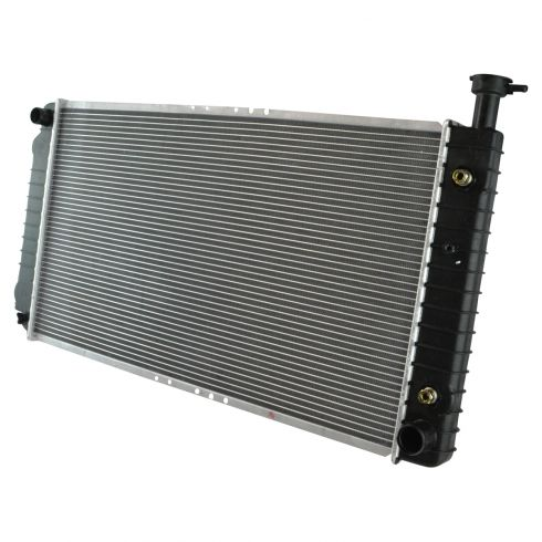 1996-02 GMC Savanna Radiator w/ V8 5.0 305 All w/o Engine Oil Cooler
