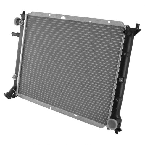 1998-03 Ford Escort Radiator w/ L4 2.0 122 All ZX2 Coupe; Dohc