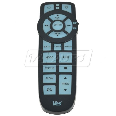 Dodge, Chrysler, Jeep, Ram ~VES~  DVD Wireless Infrared Remote Control (Mopar)