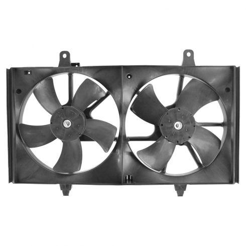 2002-05 Nissan Altima 3.5L Dual Cooling Fan Assy