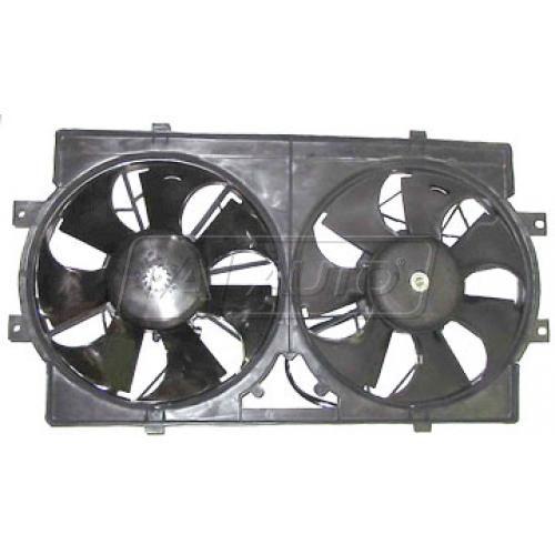 95-00 Dg Stratus Rad/Cond Fan Assy
