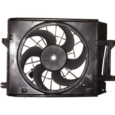 99-02 Ns Quest Rad/Cond Fan Assy