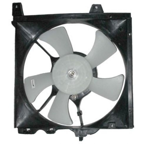 91-94 Ns Sentra Mt 2.0L Rad Fan Assy