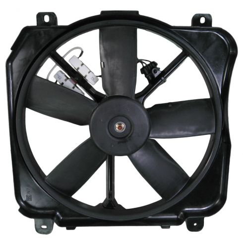 1991-99 GM 98 Park Ave Bonneville Radiator Fan Left