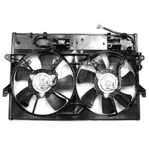 00-01 Mazda MPV Dual Radiator Fan