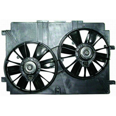 95-02 Chevy Pontiac Camaro Firebird Radiator A/C Cooling Fan for 3.8 Liter