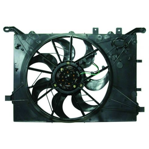 00-03 S80 6-cyl, 01-03 S60, V70, XC70 Rad & A/C Fan Motor Assy