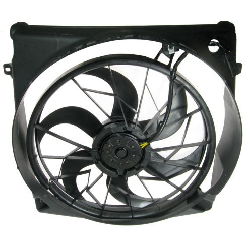 04-05 Jeep Liberty 3.7L Radiator Fan Assembly