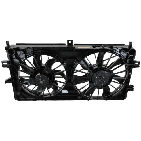 06-08 Chevrolet Impala LS LT LTZ 3.5L 3.9L Dual Fan Assembly