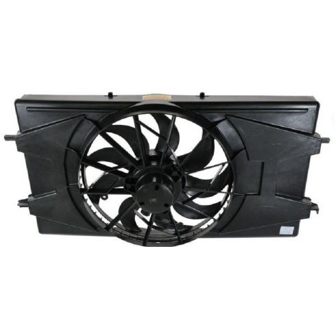 05-07 Saturn Ion 2.2., 2.4L Radiator/AC Fan Assembly