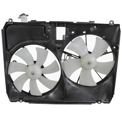2004-05 Toyota Sienna (w/o Tow Pkg) Radiator Dual Cooling Fan Assy