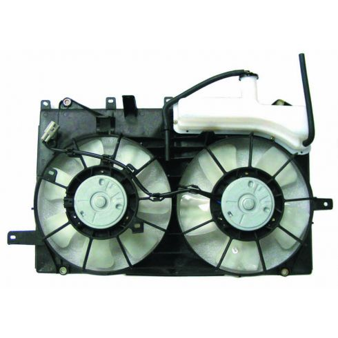 04-09 Toyota Prius Radiator Dual Fan Assy w/Coolant Bottle