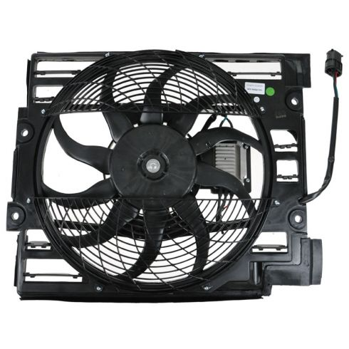 Radiator Cooling Fan Assembly (Pusher Fan)