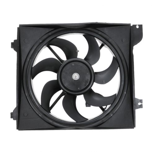 06-10 Kia Rio, Rio5 w/AC; 06-08 Rio, Rio5 w/o AC Radiator Cooling Fan Assy LH