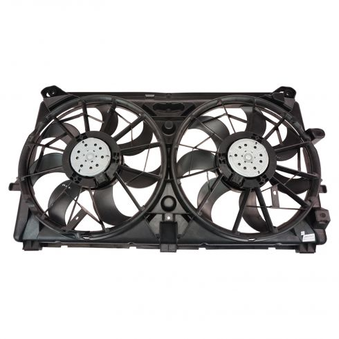 07-10 GM Full Size PU, SUV Radiator Cooling Dual Fan Assy (7 & 9  Blades)