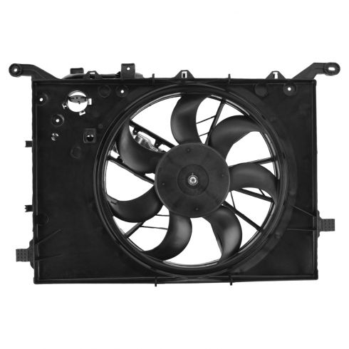 99-01 (thru Vin 116810) Volvo S80 Radiator Cooling Fan Assy