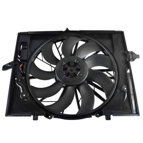 04-09 BMW 5 Series; 04-05 645Ci; 06-08 750i, 750iL (600w) Radiator Cooling Fan Assy