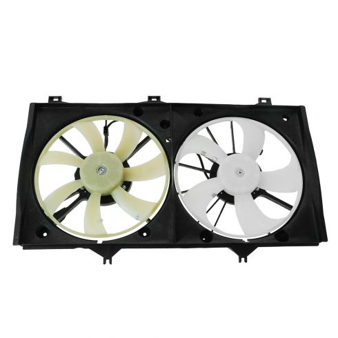 07-11 Toyota Camry Hybrid 2.4L Radiator Dual Cooling Fan Assy