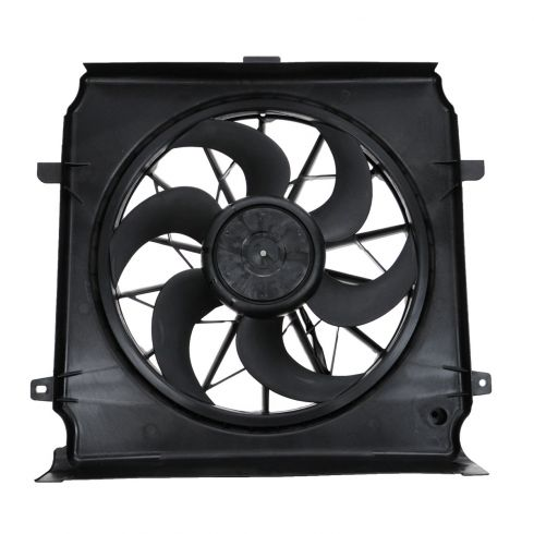 04-05 Jeep Liberty 3.7L (w/o HD Cooling) Radiator Cooling Fan Assy