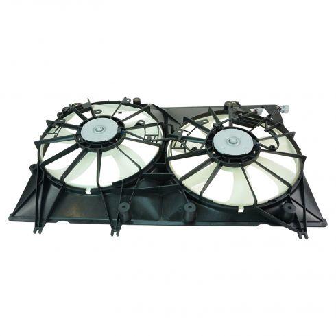 08-10 Toyota Highlander Hybrid Radiator Dual Cooling Fan Assy