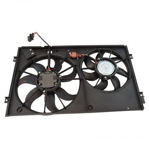 Radiator Cooling Fan Assembly (Temic Style)