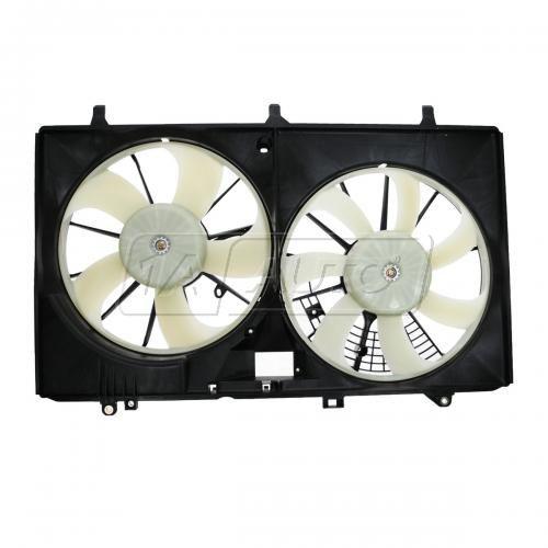10-12 Lexus RX450H Radiator dual Cooling Fan Assy (w/o FCM)