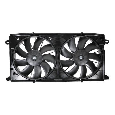 00-05 Deville; 01-03 Aurora w/4.0L Radiator Dual Cooling Fan Assy
