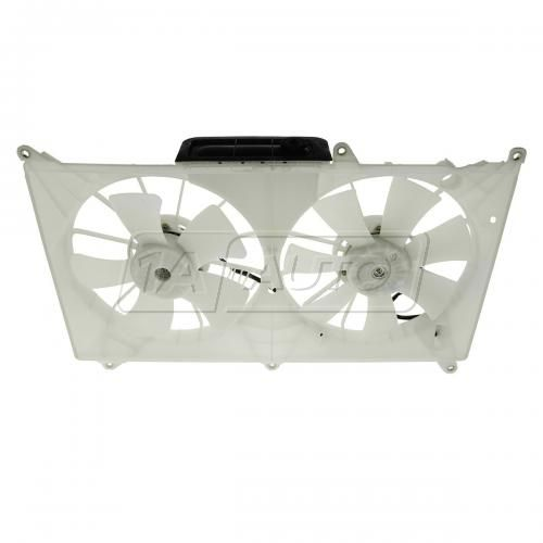 04-05 Lexus GS300 Dual Radiator Cooling Fan Assy