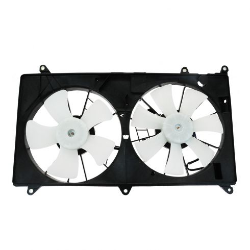 01-05 Lexus GS430 Dual Radiator Cooling Fan Assy