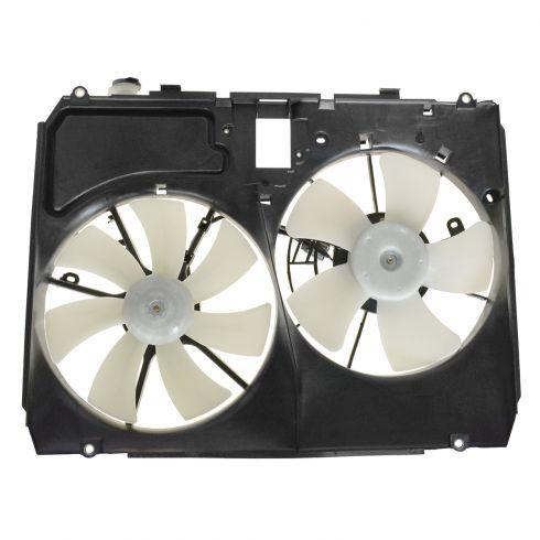 04-06 Lexus RX330 Radiator Dual Cooling Fan Assy (w/o Controller)