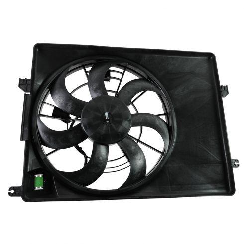 10-12 Hyundai Tucson, Kia Sportage w/2.4L Radiator Cooling Fan Assy