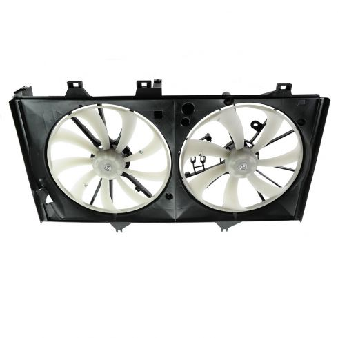 12 Toyota Camry w/2.5L Radiator Dual Cooling Fan Assy
