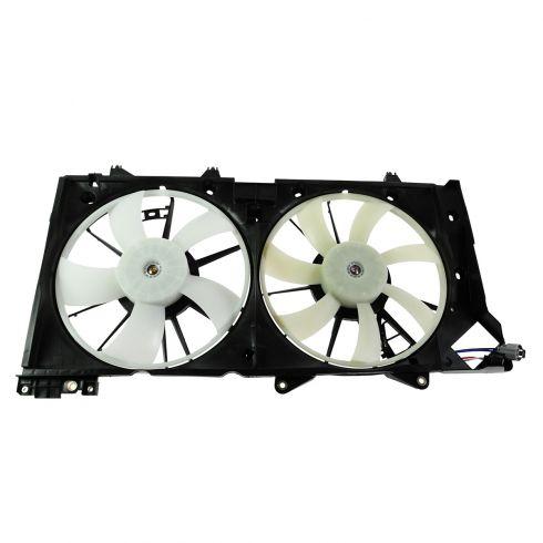 10-13 Subaru Legacy w/3.6L Radiator Dual Cooling Fan Assy