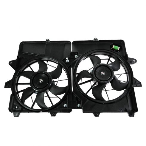 05-12 Ford Escape; 06-11 Mariner Hybrid Radiator Dual Fan Assembly